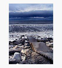 Irish Blue Photographic Print