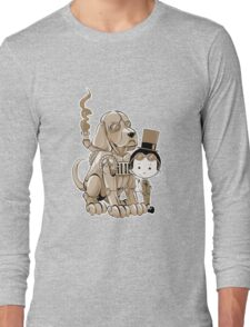 A Victorian boy and his dog Long Sleeve T-Shirt