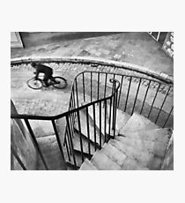 Bresson Cartier Bicycle Photographic Print