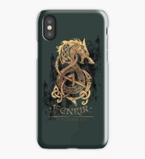Fenrir: The Nordic Monster Wolf iPhone Case