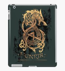 Fenrir: The Nordic Monster Wolf iPad Case/Skin