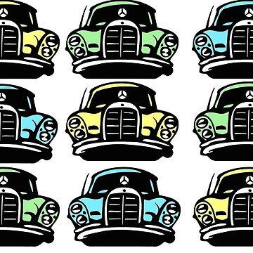 Fun Multicolor MBZ Car by mbz-tech