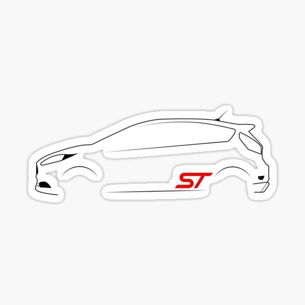 Ford Fiesta ST Vector Sticker