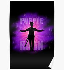 Prince In Purple Rain Poster