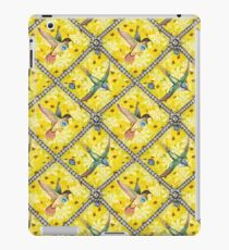 Wallpaper pattern design Bling Birds 5 Edouard Artus iPad Case/Skin