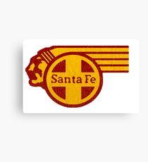Sante Fe Railroad USA Canvas Print