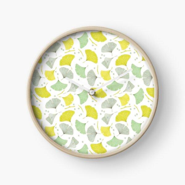 Gingko Leaves (LWA) Clock