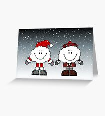 Hogmanay greeting cards redbubble merry christmas and happy new year greeting card m4hsunfo
