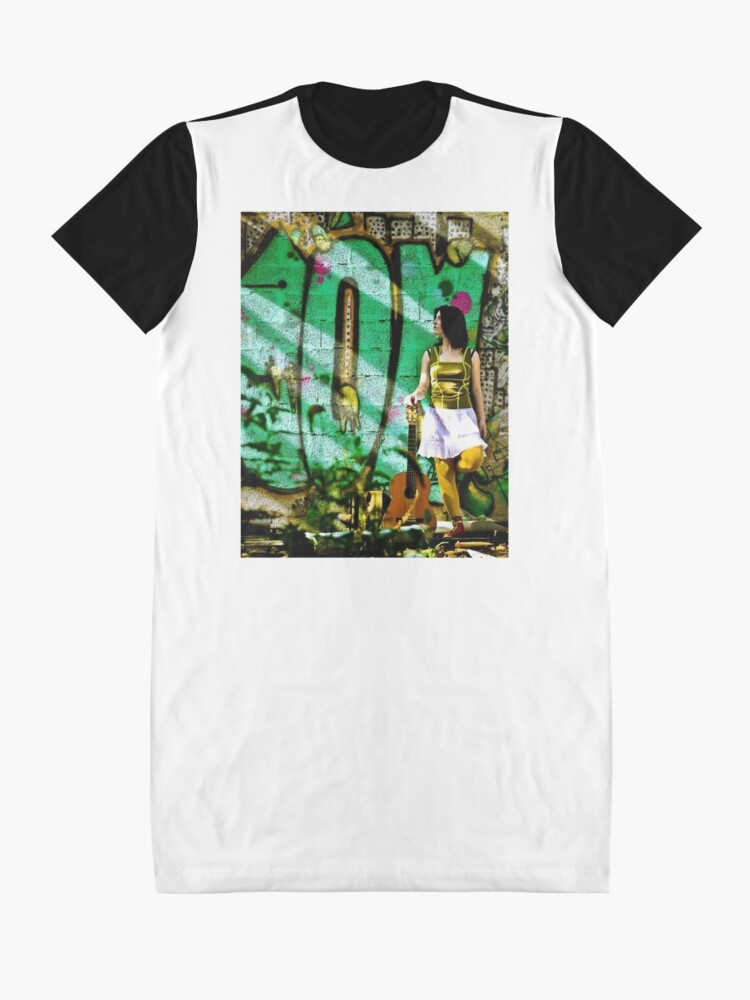 Alternate view of Light Call Graphic T-Shirt Dress