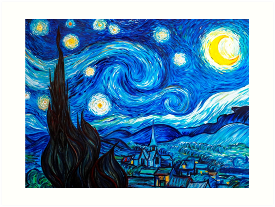 starry night leggings and gifts vincent van gogh painting art