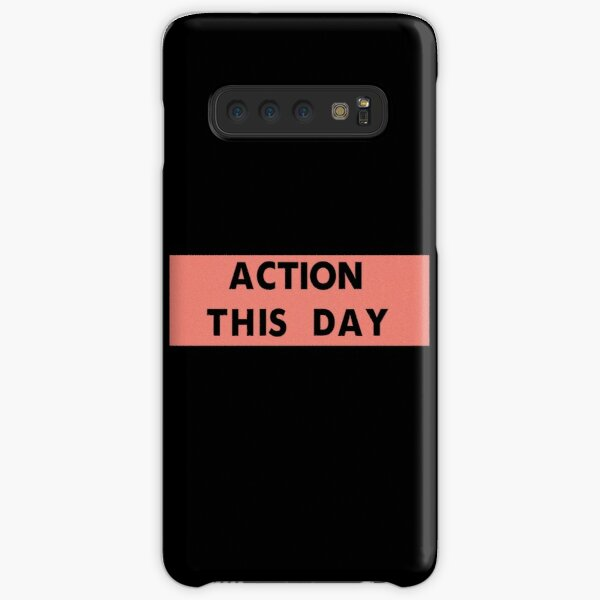 ACTION THIS DAY Samsung Galaxy Snap Case