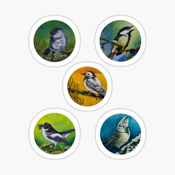 Set of Birds Sticker
