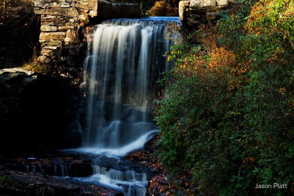 old sawmill falls paxton, massachusetts by Jason Platt