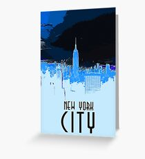 New York City Lights Greeting Card