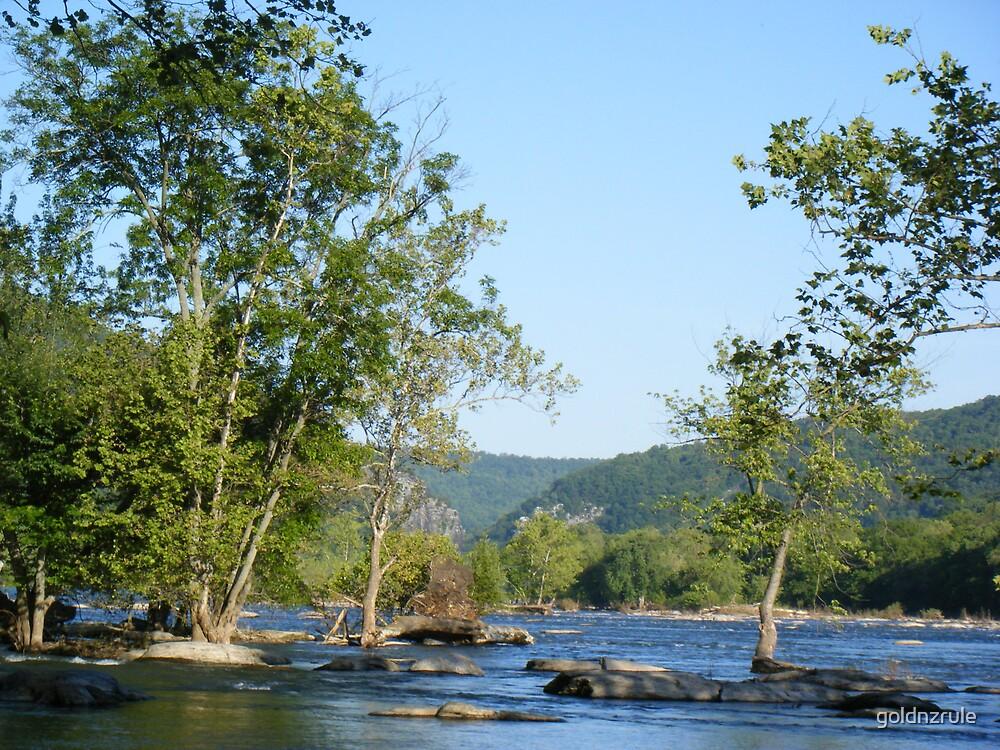 Potomac river view by goldnzrule