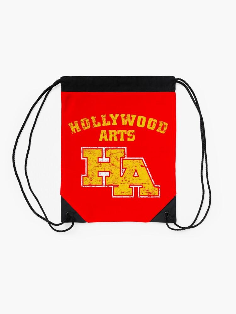 Alternate view of Hollywood Arts High School Drawstring Bag