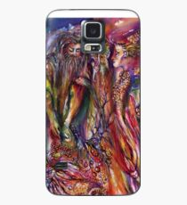 VIVIEN AND MERLIN Pink Purple Blue Fantasy Collection Case/Skin for Samsung Galaxy