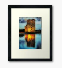 Carrigafoyle Castle Framed Print