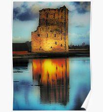 Carrigafoyle Castle Poster