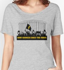 How Kinnick Does The Wave Dance Marathon Fundraiser Women's Relaxed Fit T-Shirt