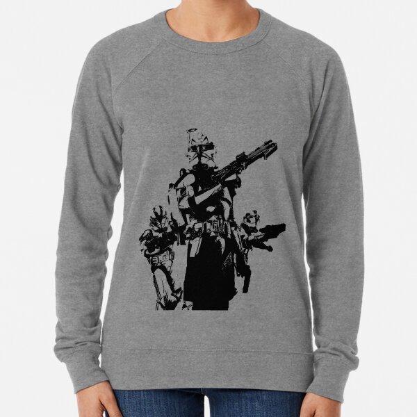 501st Trooper Silk Screen Lightweight Sweatshirt