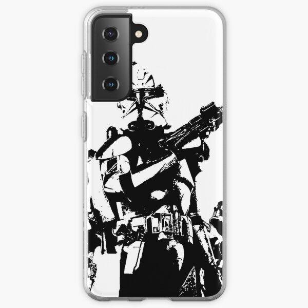 501st Trooper Silk Screen Samsung Galaxy Soft Case