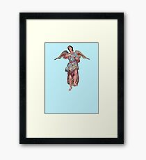 San Xavier ANGEL Framed Print