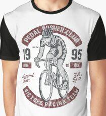 BICYCLE RACER - Vintage Bike Biker Cyclist und Fahrrad Shirt Graphic T-Shirt