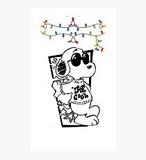 gift snoopy Photographic Print