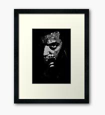 Mesrine Vincent Cassel Framed Print