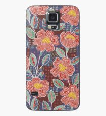 Painterly Boho Roses by PaintMeBright Case/Skin for Samsung Galaxy