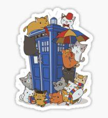 Kitten Who Sticker