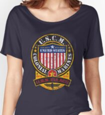 U.s. Colonial Marines Women's Relaxed Fit T-Shirt