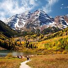 Maroon Bells by Valentina Gatewood
