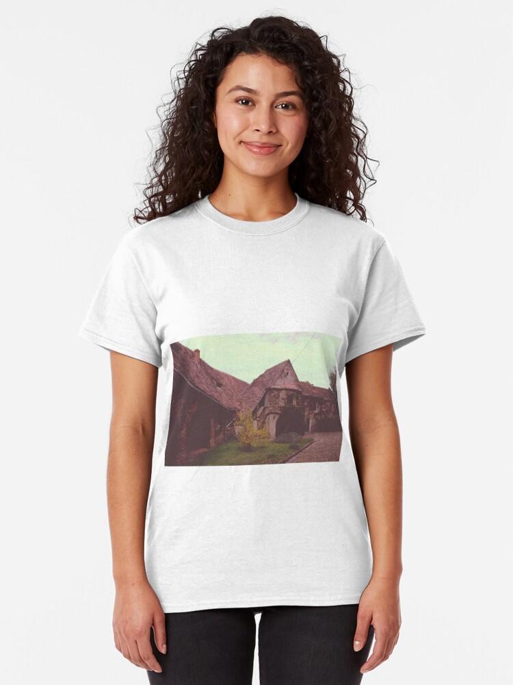 Vista alternativa de Camiseta clásica Church castle