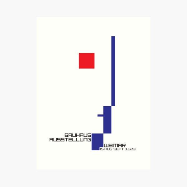 Bauhaus#4 Art Print
