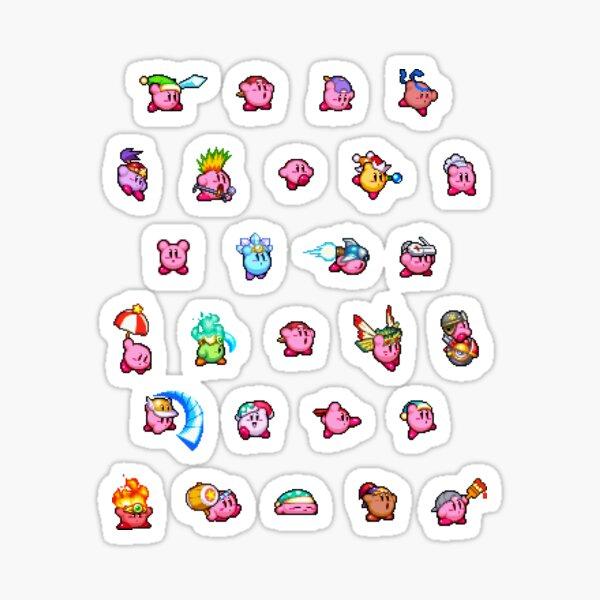 Kirby Pattern Sticker