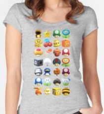 Power-Ups Women's Fitted Scoop T-Shirt