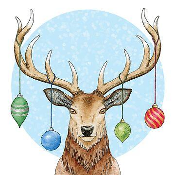 Christmas Cheer Deer by srclark