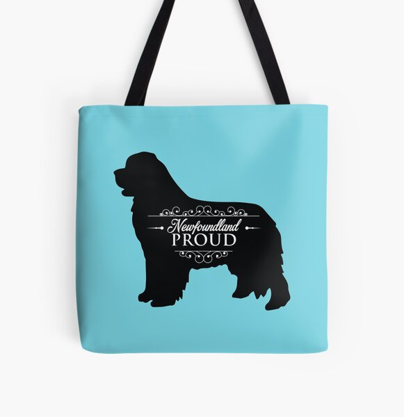 Proud Newfoundland Owner! All Over Print Tote Bag