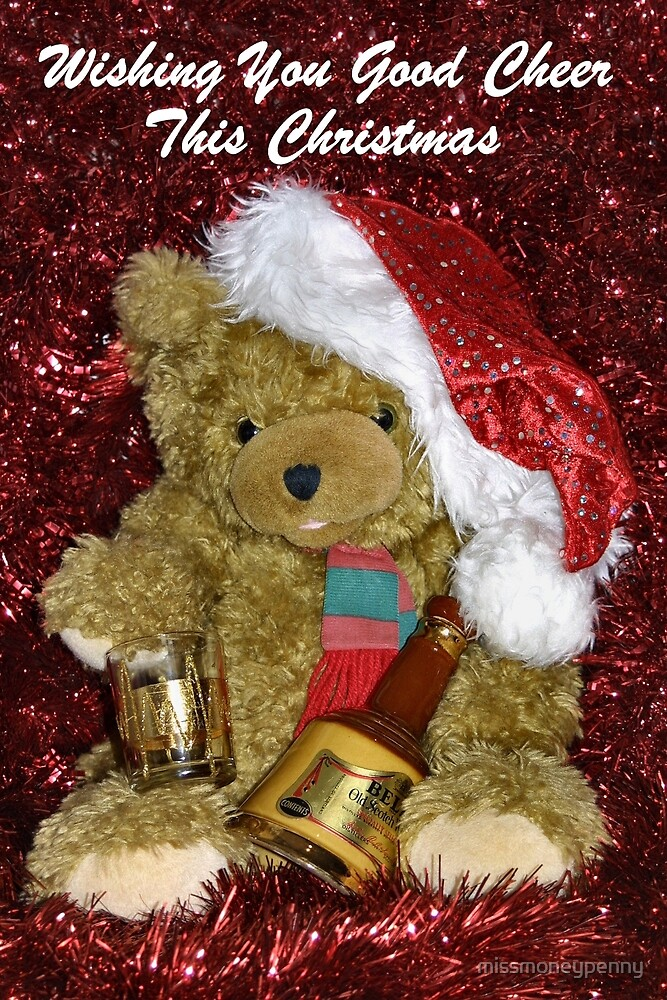 Christmas Ted by missmoneypenny
