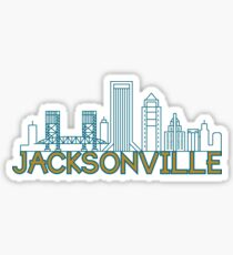 Jacksonville Florida Downtown  Sticker