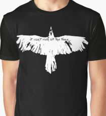 the crow- it cant't rain all the time Graphic T-Shirt