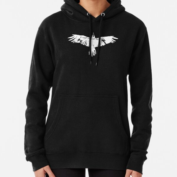 the crow- it cant't rain all the time Pullover Hoodie