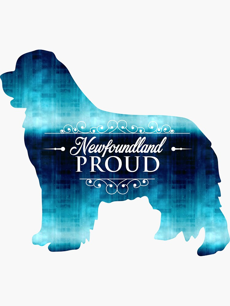 Newfoundland Proud in Blue! by itsmechris