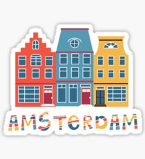 Amsterdam Netherlands  Sticker