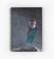 Ski-sons Greetings Spiral Notebook