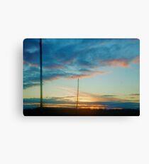 Traverse City sky Canvas Print