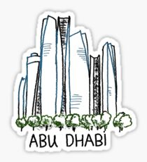 Abu Dhabi UAE United Arab Emirates Sticker