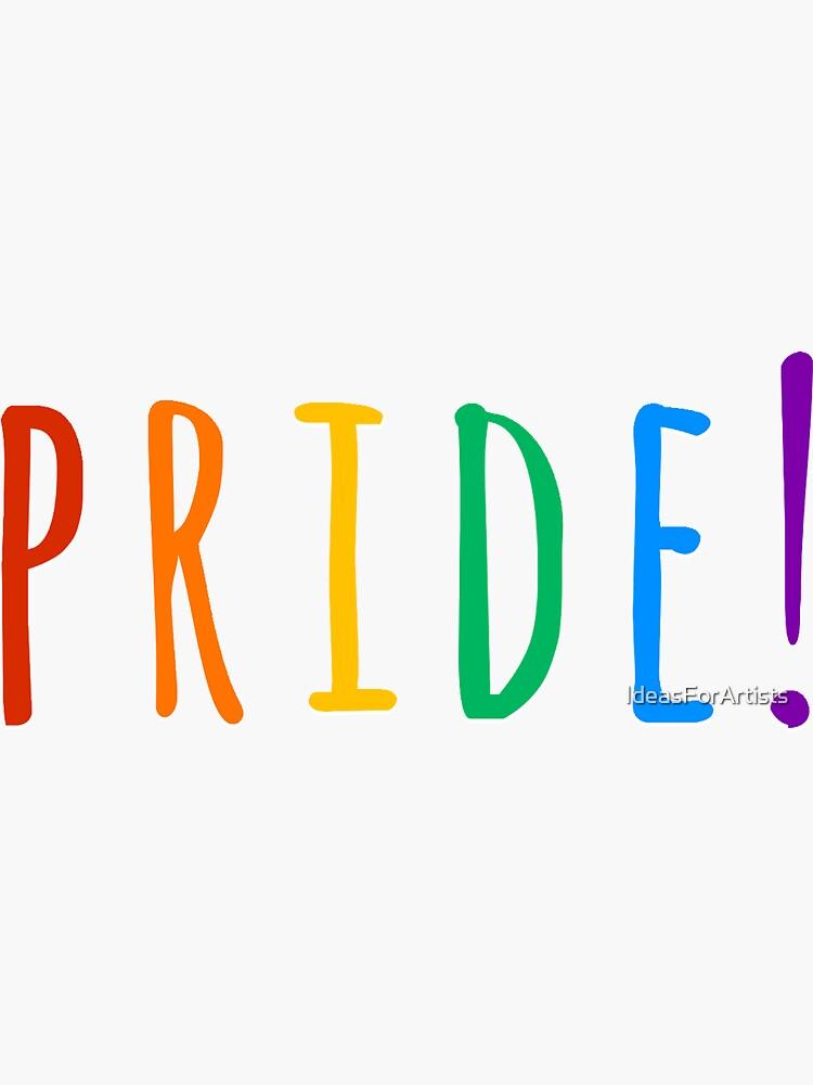 pride rainbow by IdeasForArtists